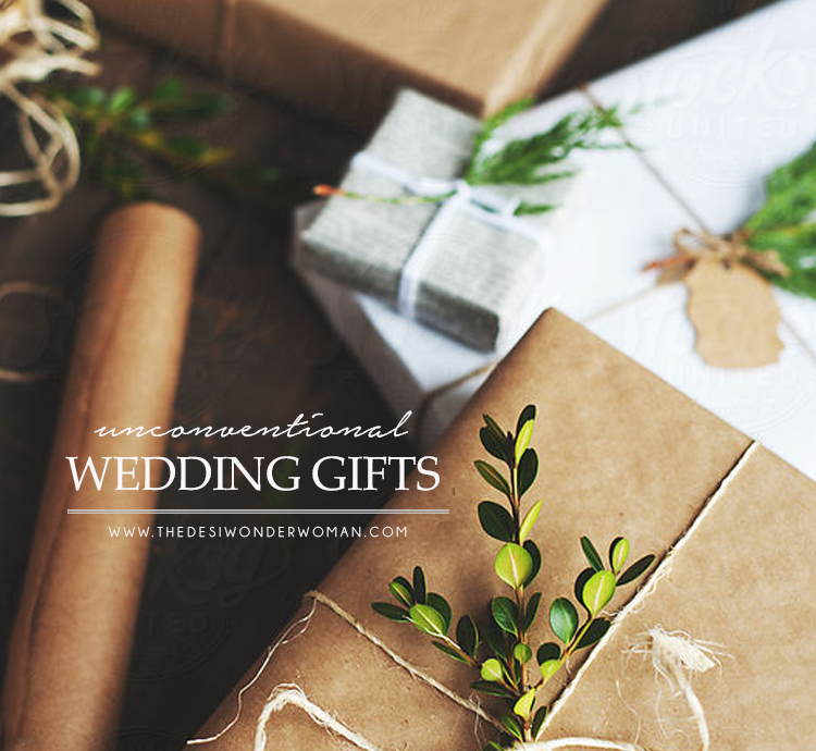 Unconventional Wedding Gifts
